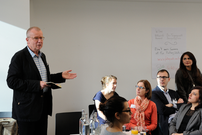 Dean Ruprecht Polenz at the 3rd Global Diplomacy Lab